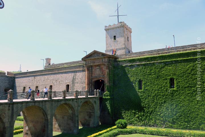 castelo de montejuic barcelona