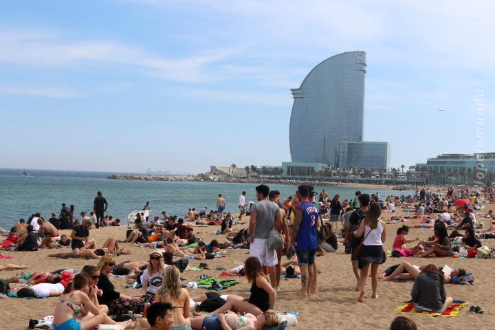 Barceloneta Barcelona Espanha