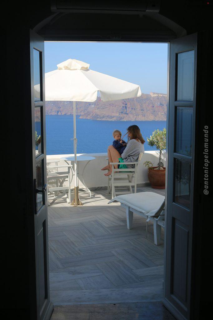 Santorini Grécia hotel