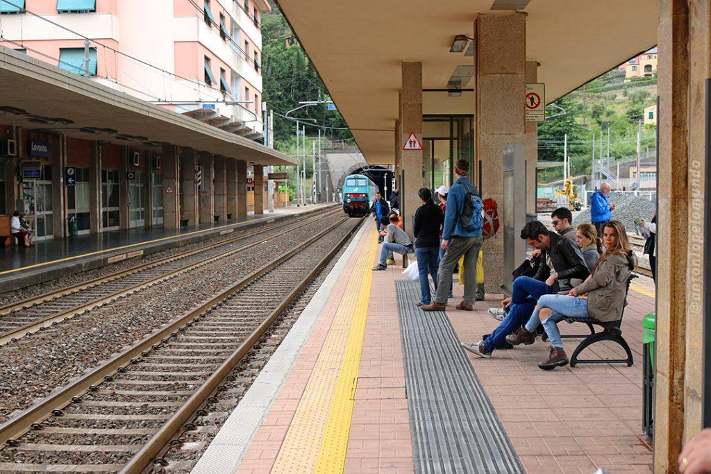 trem Levanto - Cinque Terre