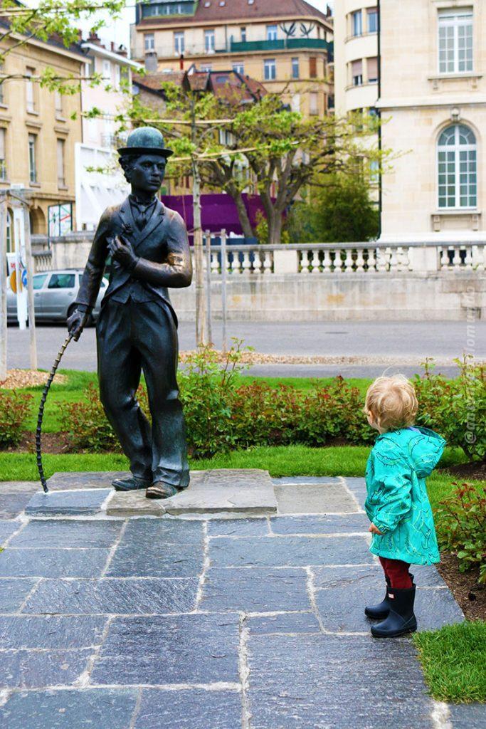 Vevey - Charles Chaplin