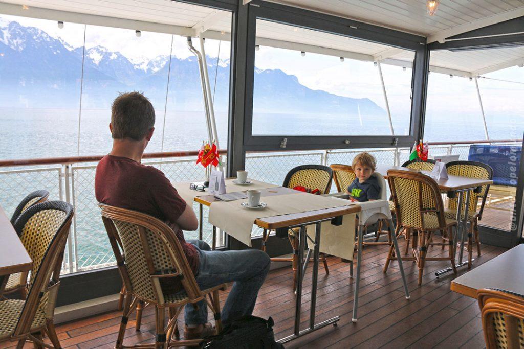 VEvey boat - Genebra lake