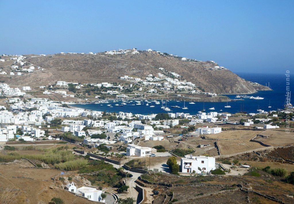 Mykonos - Praia de Ornos