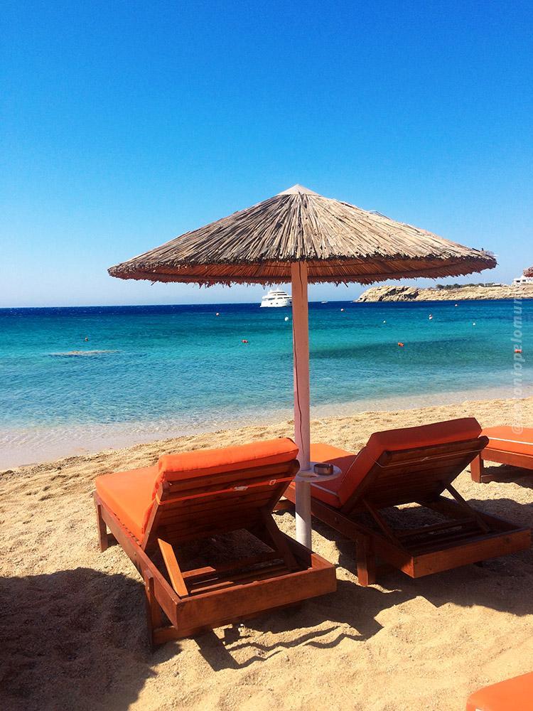 As melhores praias de Mykonos