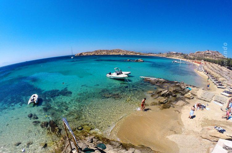 Paraga Beach em MYkonos