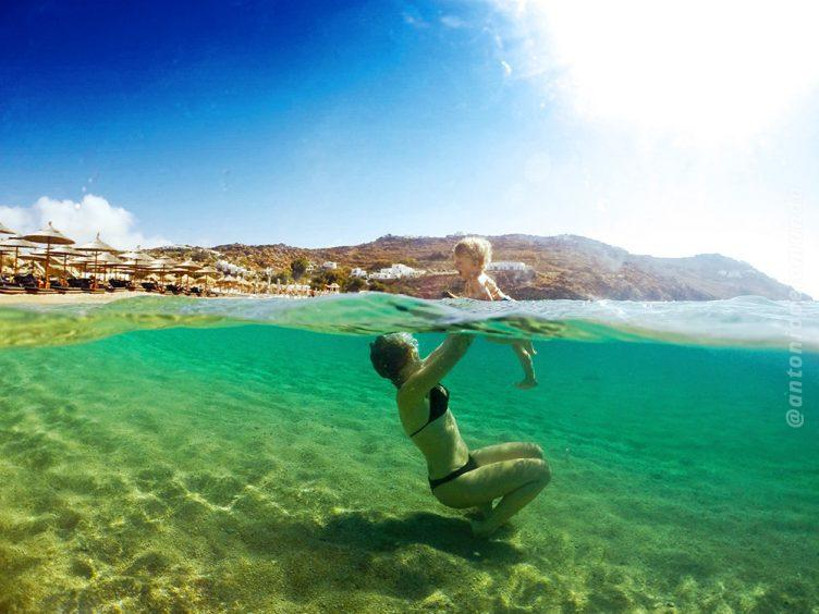 Super Paradise em Mykonos