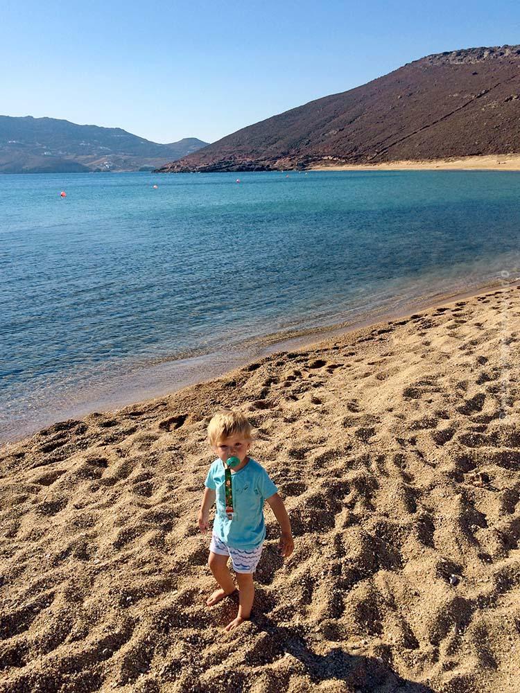 Panormos Beach em Mykonos