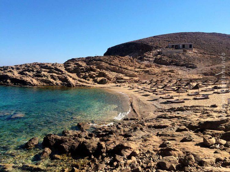 Alemagou - Ftelia Beach em Mykonos