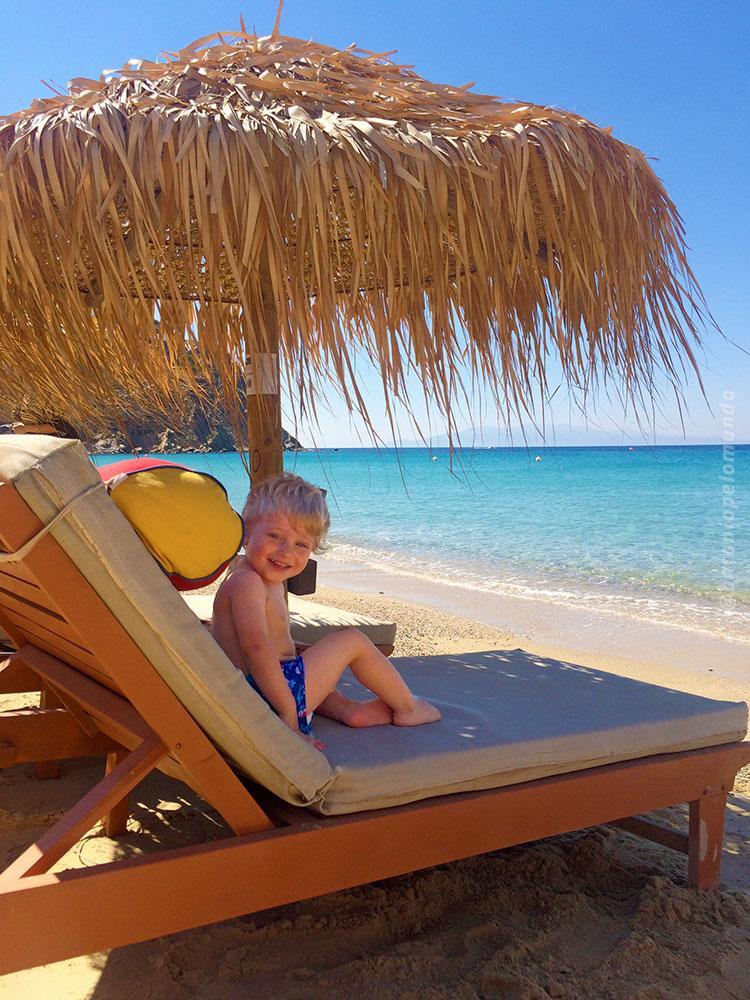 Elia Beach em Mykonos