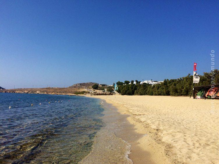 kalafatis Beach em Mykonos
