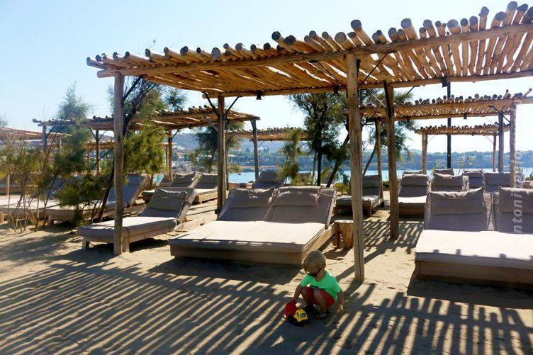 Scorpios, Paraga Beach em Mykonos