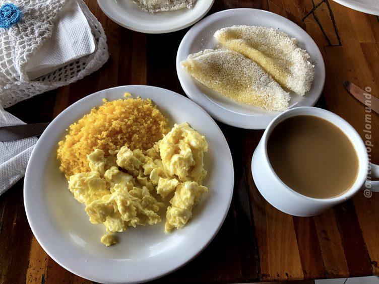 Café da manhã Hotel Jeri