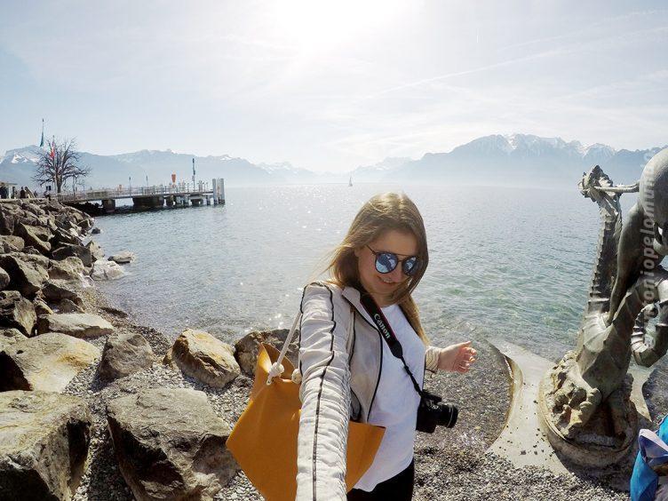Lago Leman em Vevey