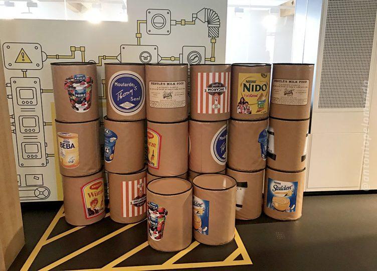 Mini Fabrica Nestlé para as crianças