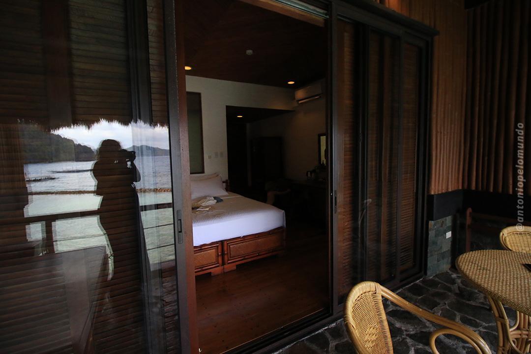 Quarto duplo com vista para o mar - Miniloc Island - El Nido Resorts