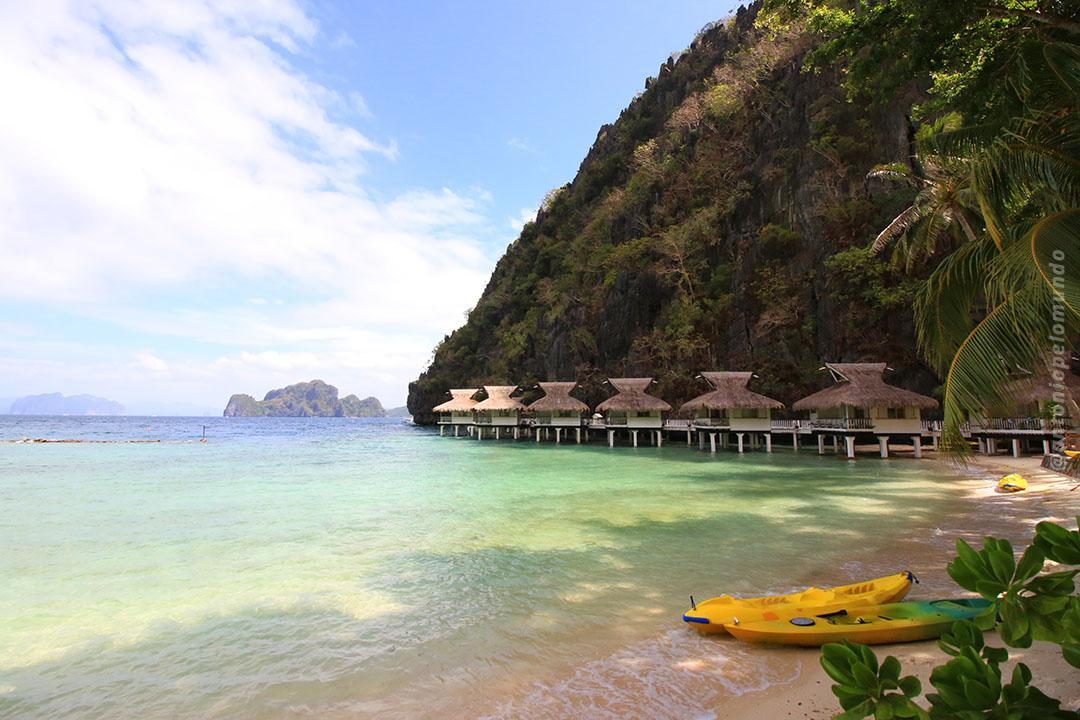 Bangalôs Miniloc Island - El Nido Resorts