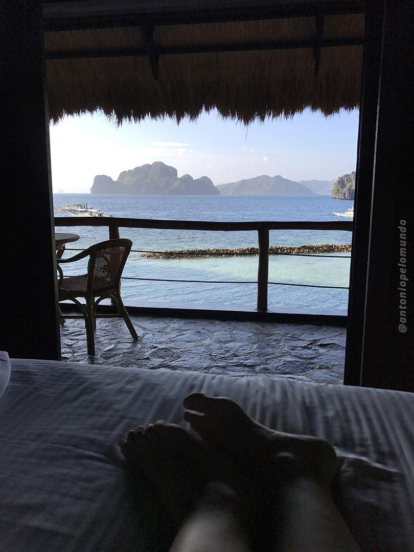 Quarto com vista para o mar - Miniloc Island - El Nido Resorts