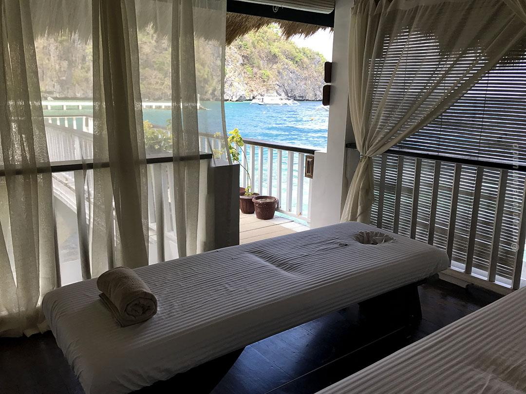 Sala de massagens - Miniloc Island - El Nido Resorts