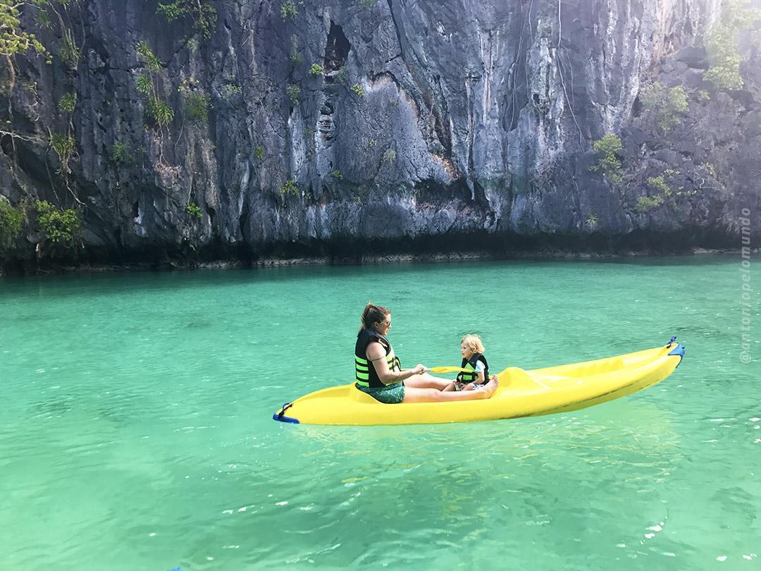 Small Lagoon em El Nido - Filipinas