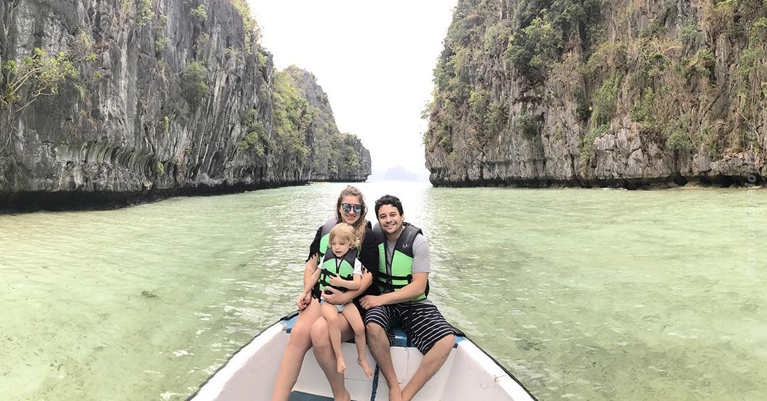 Big Lagoon em El Nido - Filipinas