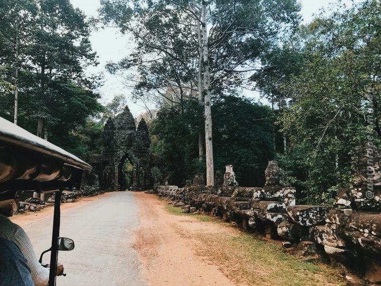 Portões de Angkor Thom