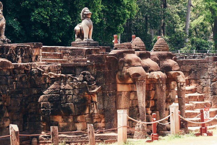 Terrace of Elephants - Angkor
