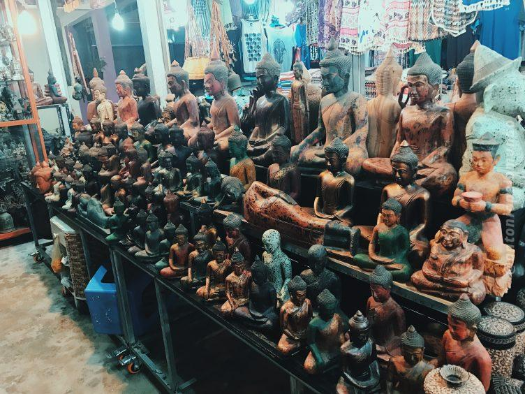 Night Market em Siem Reap