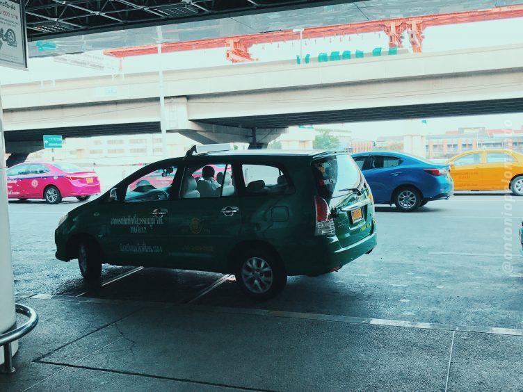 Táxi em Bangkok