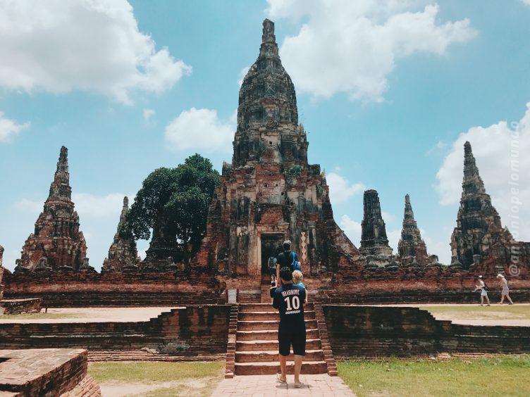 Wat ChaiWatthanaram em Ayutthaya