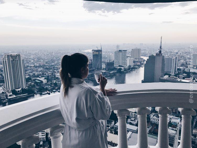 Sacada do hotel Lebua, em Bangkok