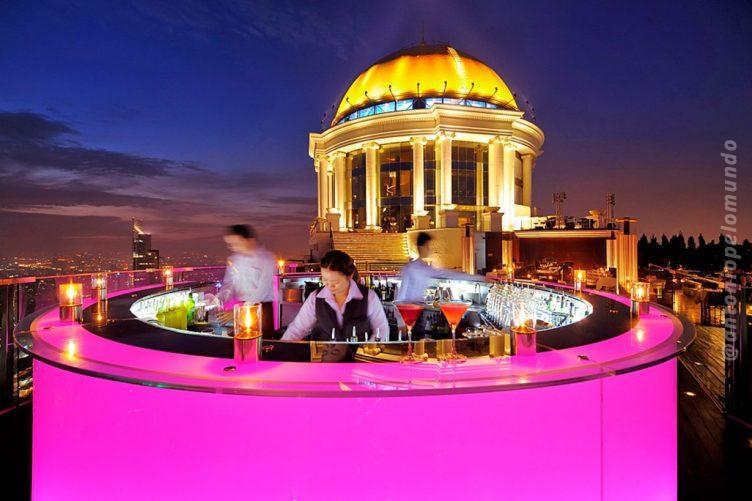 Sirocco Bar em Bangkok Foto: www.lebua.com