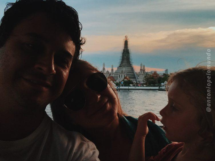 Wat Arun - Templo do amanhecer em Bangkok