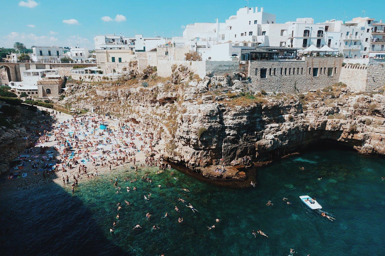 POliganano a Mare na Puglia