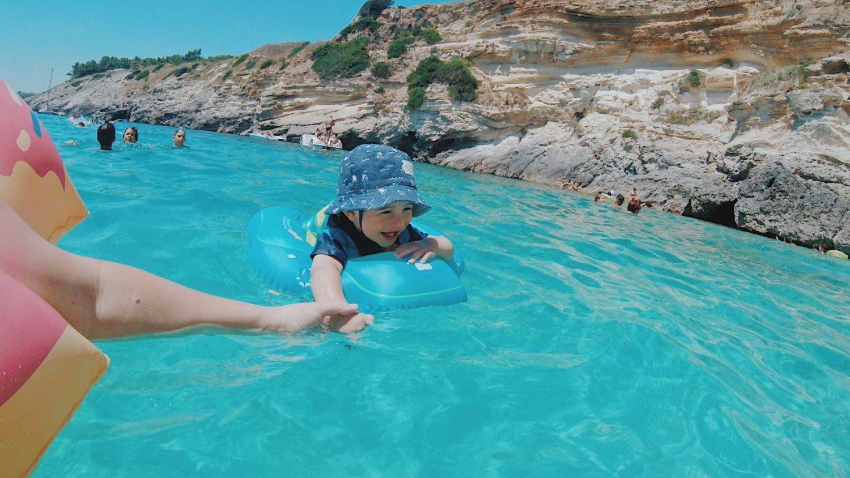 POrto MIggiano com crianças - Puglia