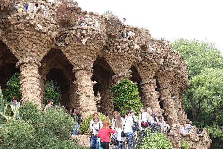 Parque Guell em Barcelona
