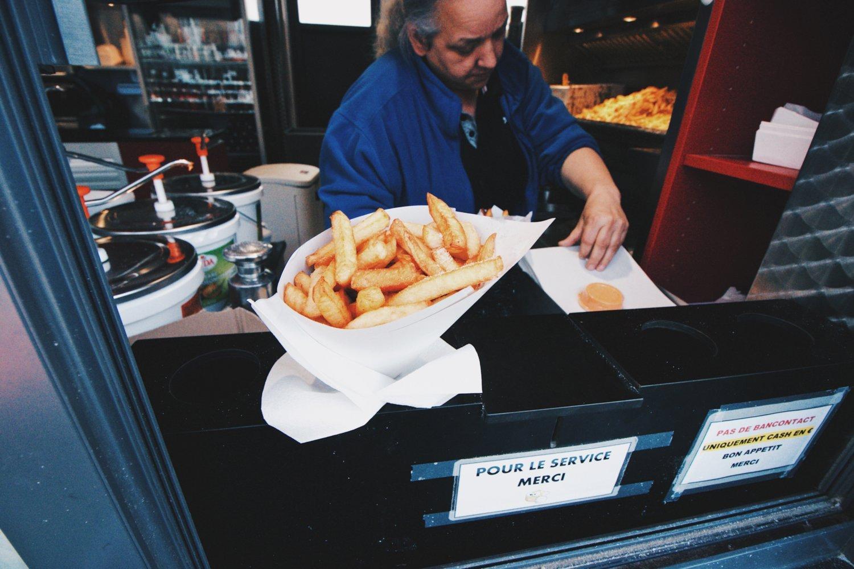 A melhor batata frita da Bélgica