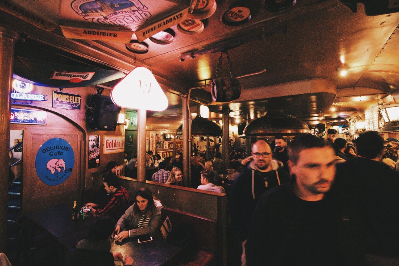 Delirium Bar em Bruxela