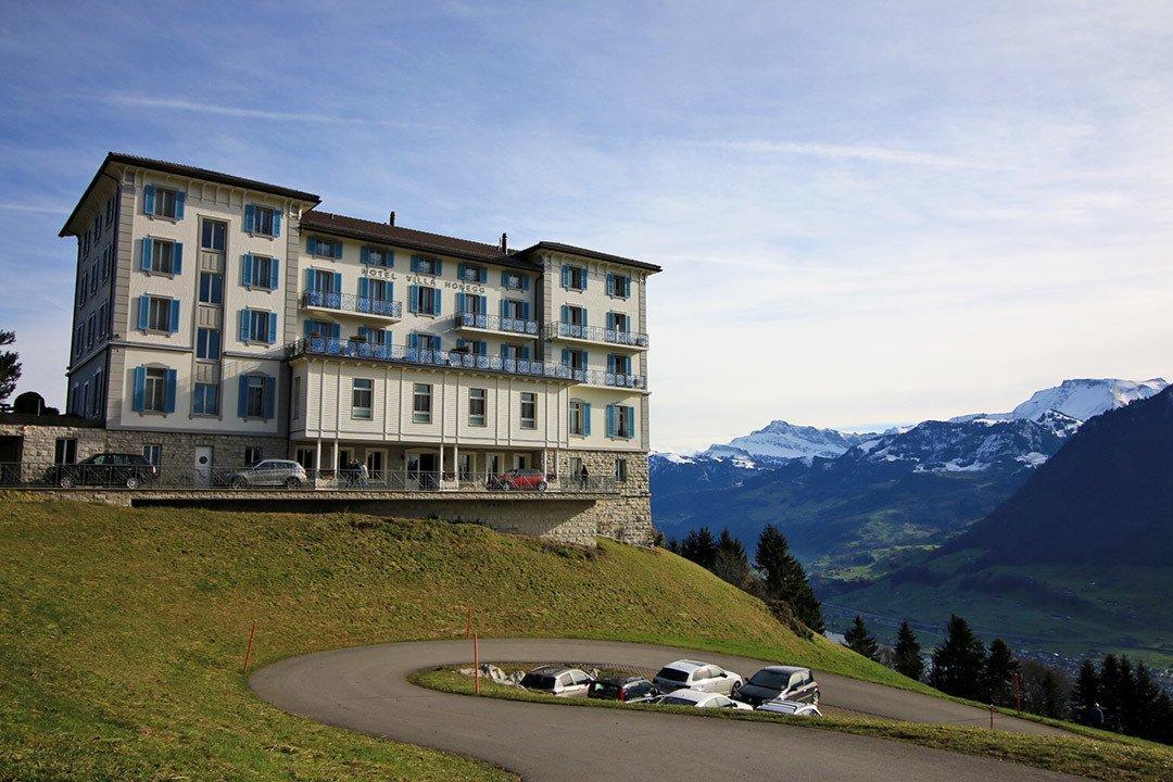 Os hotéis mais incríveis da Suíça