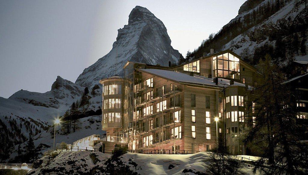 Hotéis de luxo na Suíça