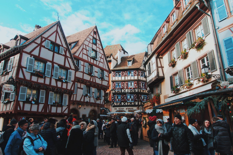 Mercado de Natal em Colmar