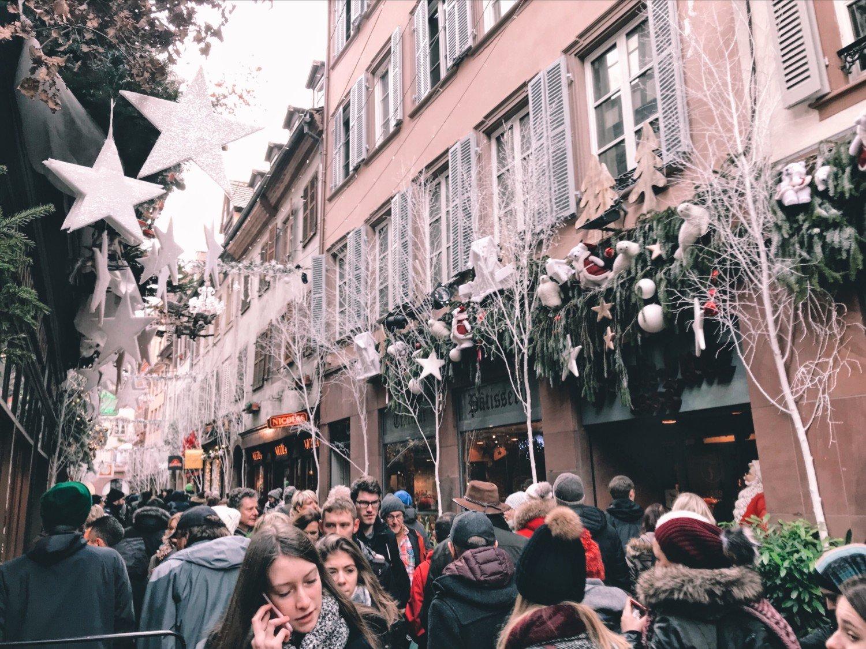 Mercado de Natal em Estrasburgo