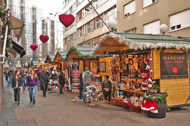 Mercado de Natal em Zagreb