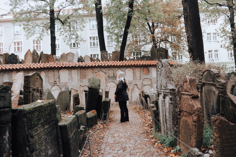 Cemitério Judeu em Praga
