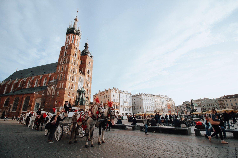 Cracóvia- A cidade dos contos de fadas.