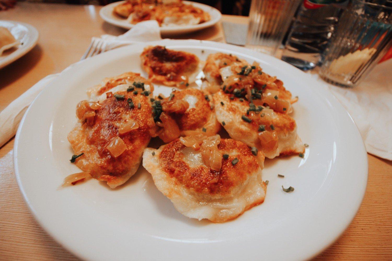 Pirogue, comida típica da Polônia.