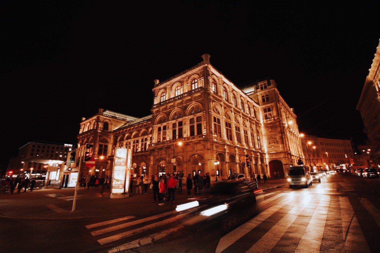 Ópera de Vienna na Áustria
