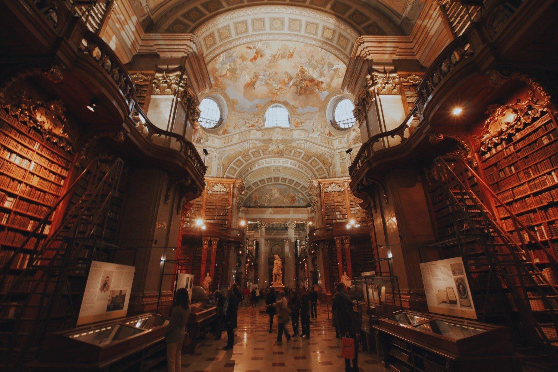 Biblioteca Nacional em Viena