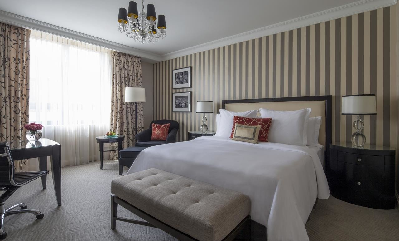 Quarto do hotel Four Seasons em Praga
