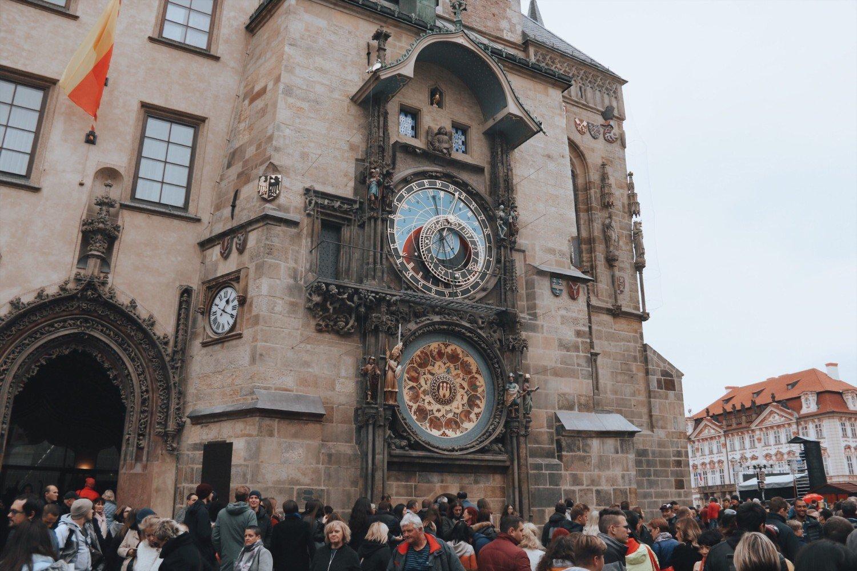Relógio astronômico em Praga