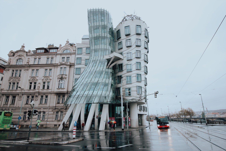 Casa Dançante em Praga
